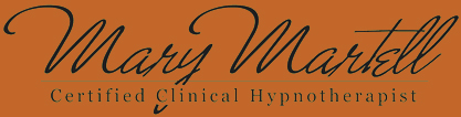 Mary Martell Certified Clinical Hypnotherapist, Header logo